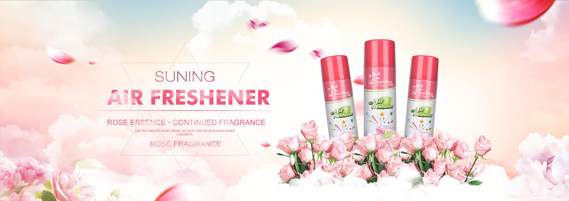 air freshener rose 340ml SUNING